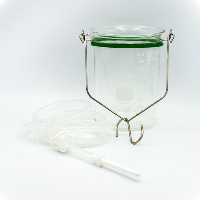 Pure Life, Enema Bucket (glass)