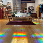 "Rainbow Window Sheets ~ Holographic Film ~ ""Spectra Star"""