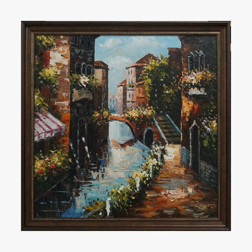 Oil Painting - Venice view