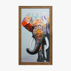 Oil Painting - Elephant