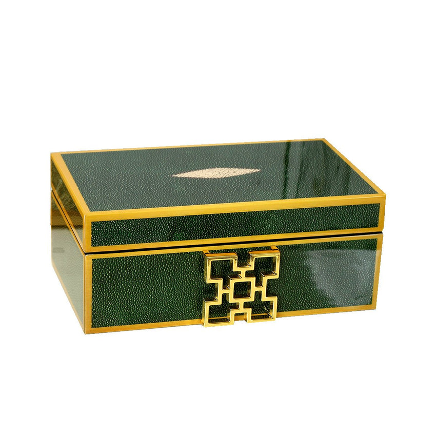 Decor Jewelry Box, Decorative Keepsake Box Mirrored Trinket Box