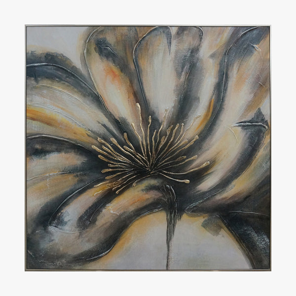 Oil Painting - Gold Flower