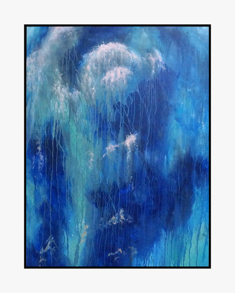 Oil Painting - Flowing - Abstract Art