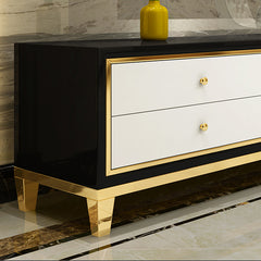 Modern TV Stand Media Console with 6 Drawers