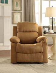 ACME Parklon Recliner - 59468 - Brown Microfiber