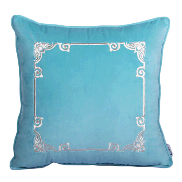 Luxury Contemporary Velvet Floral Pillow Decor Cushion