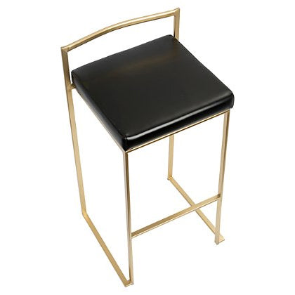 Golden Bar Stool (Set of 2)