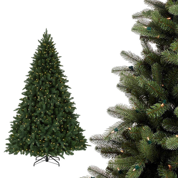6ft Green Pine Artificial Christmas Tree with LED Light