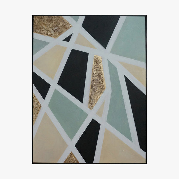 Geometry Hand Made Framed Wall Art