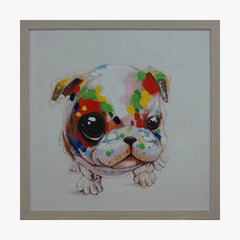 Bulldog Framed Wall Art