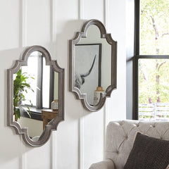 Home Wood Frame Accent Mirror