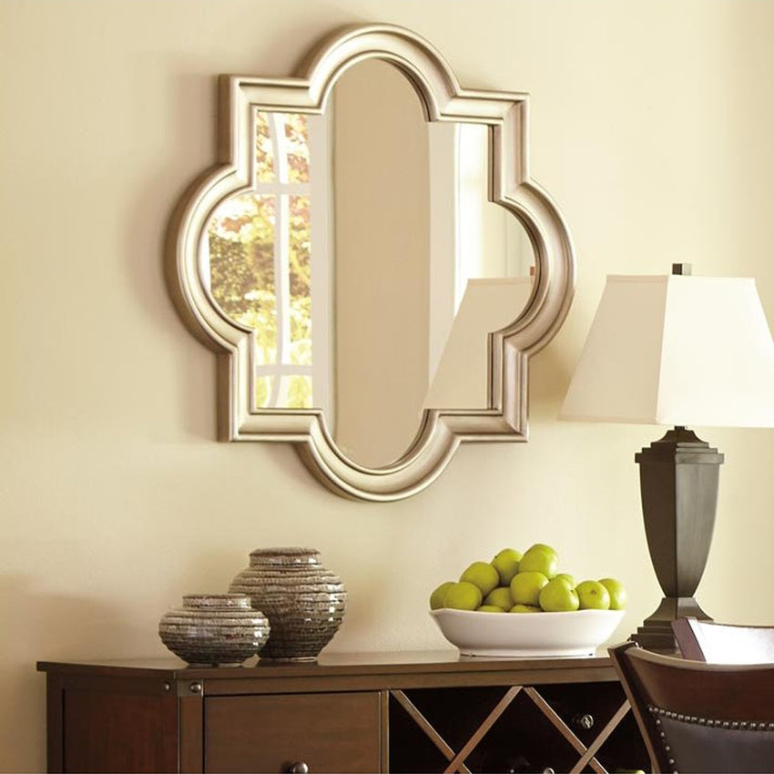 Home Champagne Accent Mirror