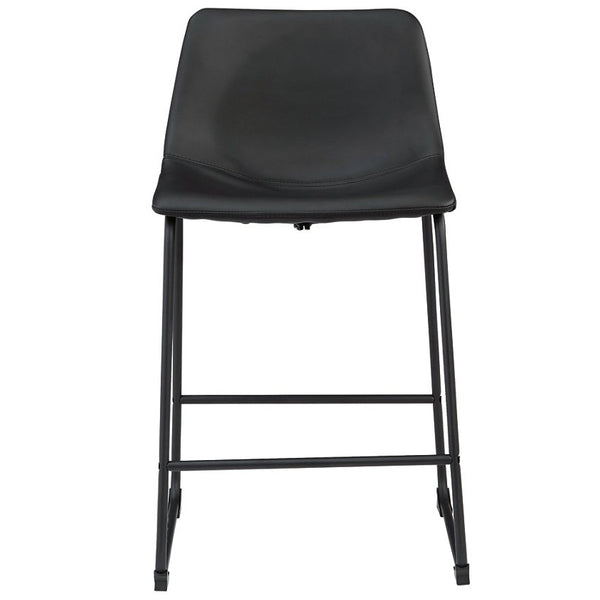 Counter Height Bar Stool,Black