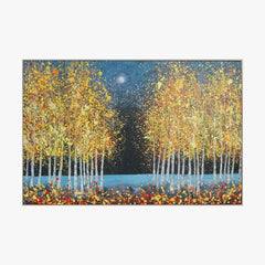 Oil Painting - Autumn Night