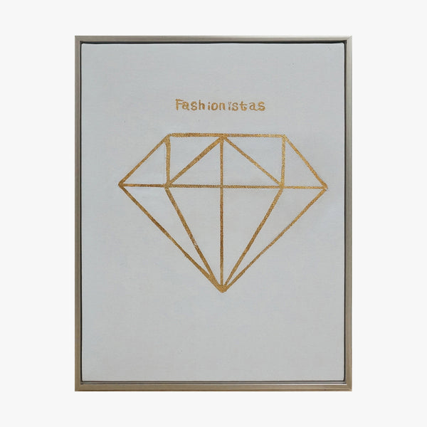 Framed Wall Art - Diamond - Wall Art
