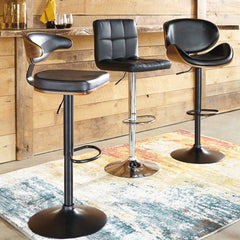 Adjustable Height Bar Stool