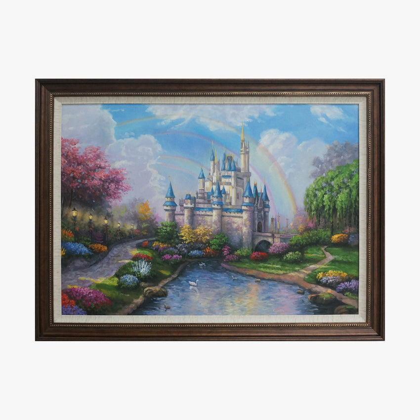 Oil Painting - Spring Castle