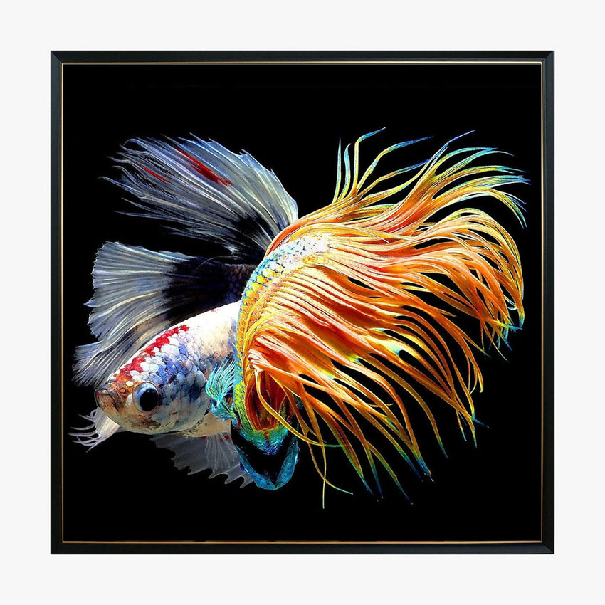 Crystal Painting - Goldfish