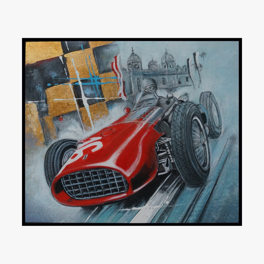 Oil Painting - Car NO.16