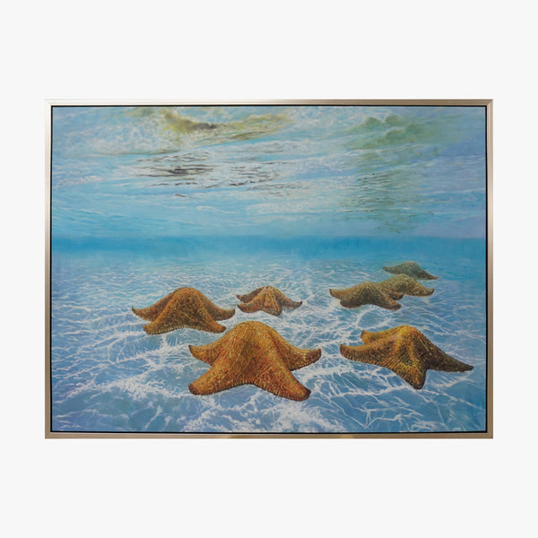 Oil Painting - Underwater World