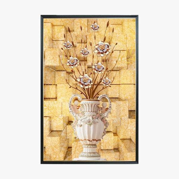 Crystal Painting - Flower in Vase