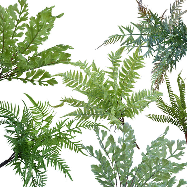 Artificial Plants Greenery,  Boston Fern Bush Plant