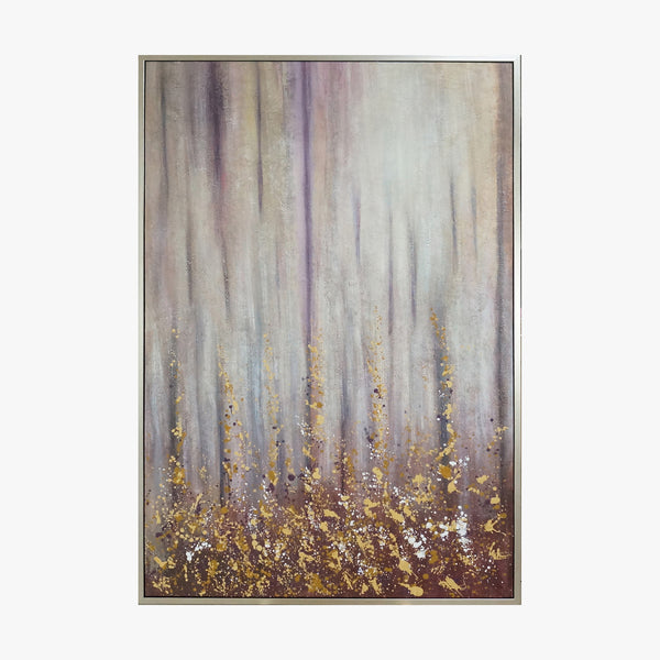 Oil Painting - Glitter - Abstract Art
