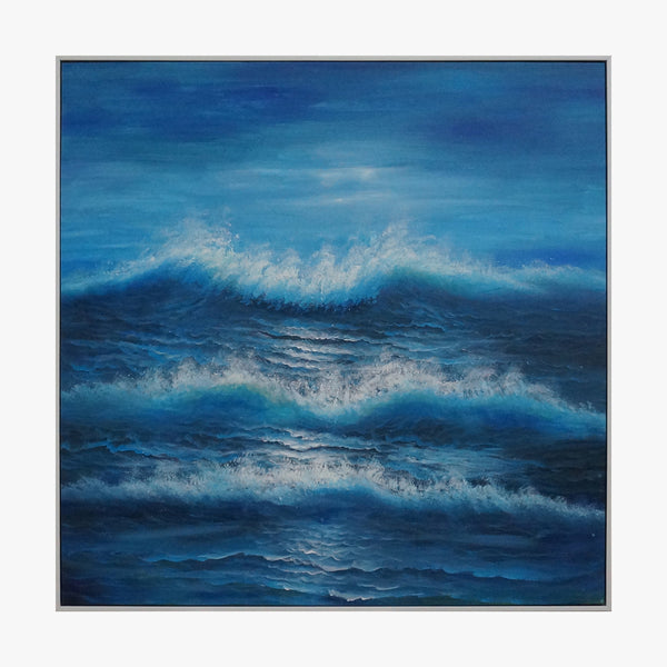 Oil Painting - Ocean Wave
