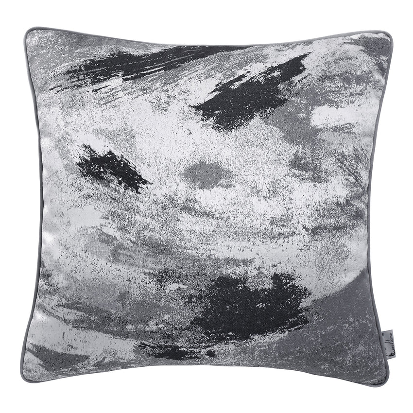 Marble Texture Velvet Soft Decorative Cushion Throw Pillow