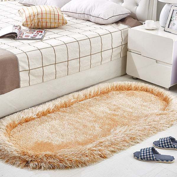 Ultra Soft Children Rugs Modern Shag Area Rugs 4.59' x 2.3'