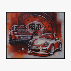 Oil Painting - Car NO.977