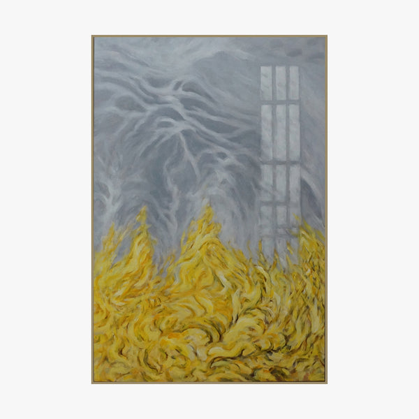 Oil Painting - Golden Wheat Field