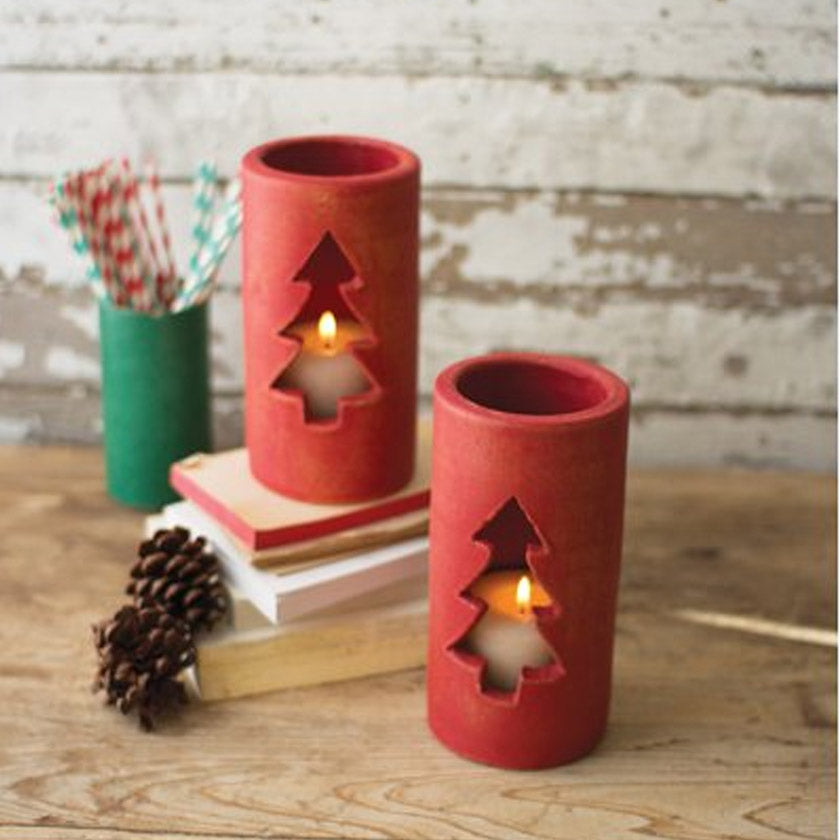 Decorative Christmas Luminary (Set of 2)