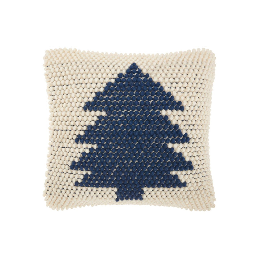 Wool Decorative Home For The Holiday Pillow