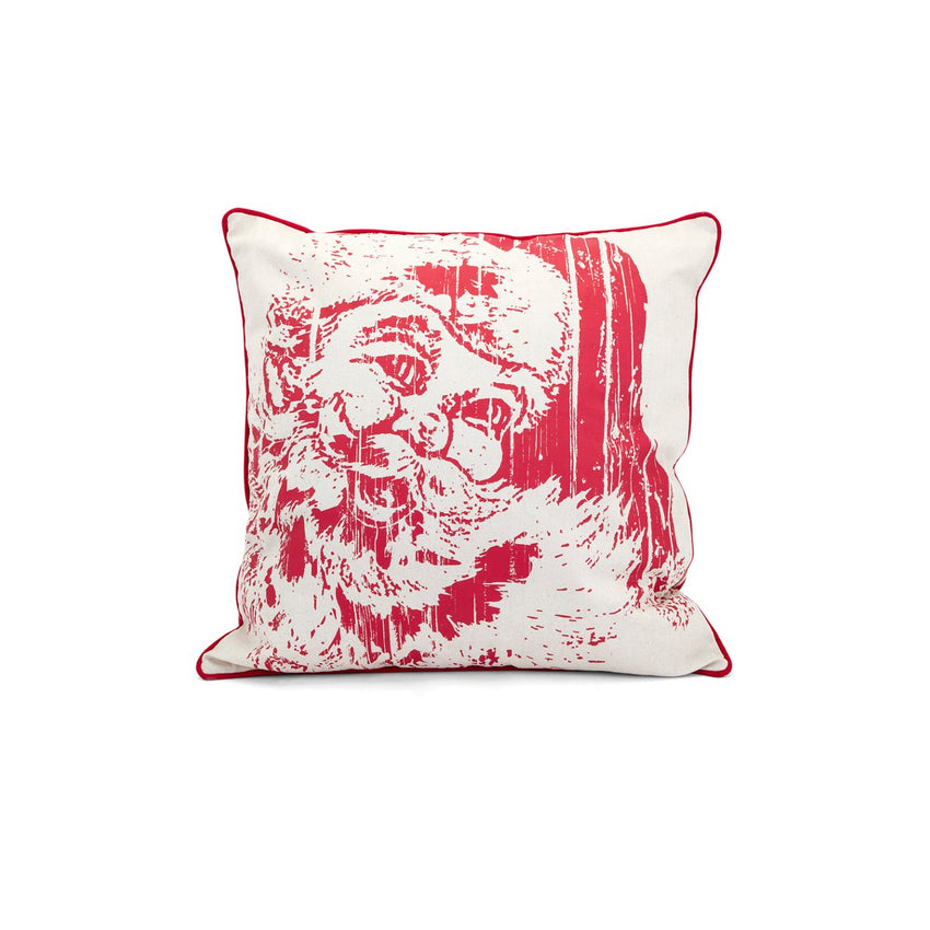 Holiday Homestead Christmas Vintage Santa Pillow