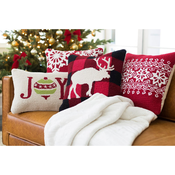 Winter Throw Pillow - Christmas Collection
