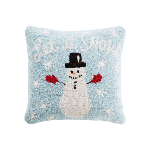 Holiday Throw Pillow -Snowman