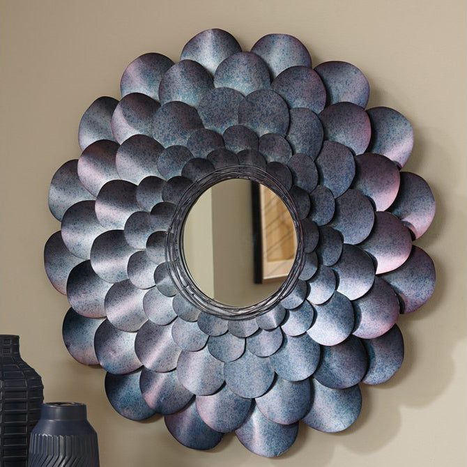 Home Decor Flower Accent Mirror