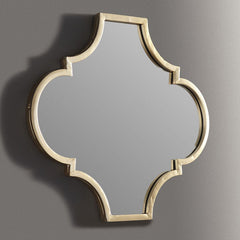 Home Accents Goldtone Mirror