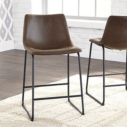 Counter Height Bar Stool, Brown
