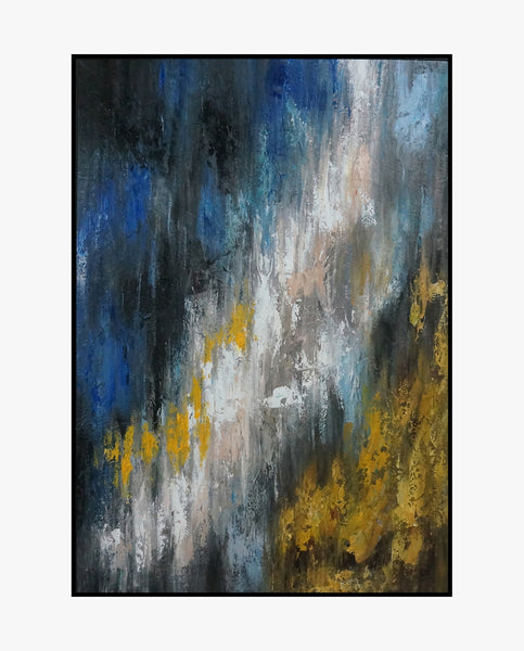 Oil Painting - Universe - Abstract Art