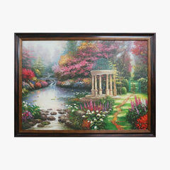 Oil Painting - Classical garden