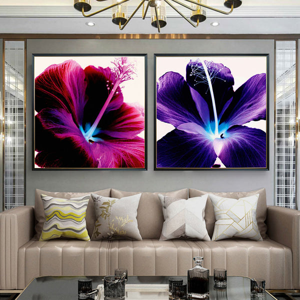 Crystal Painting - Hibiscus - Collection