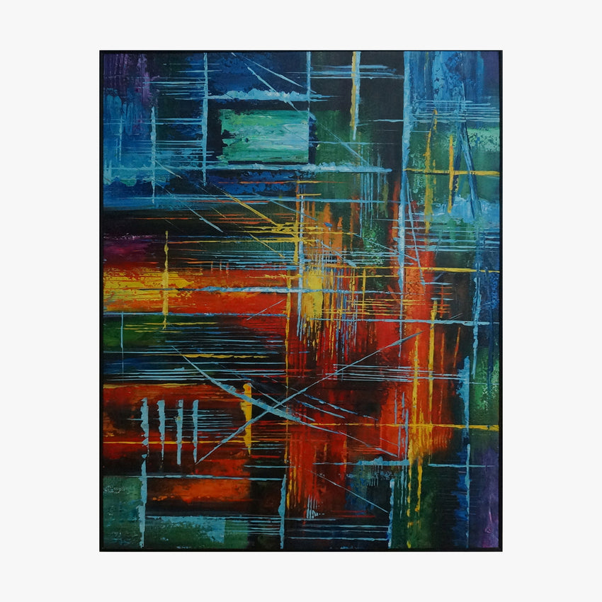Oil Painting - Geometry