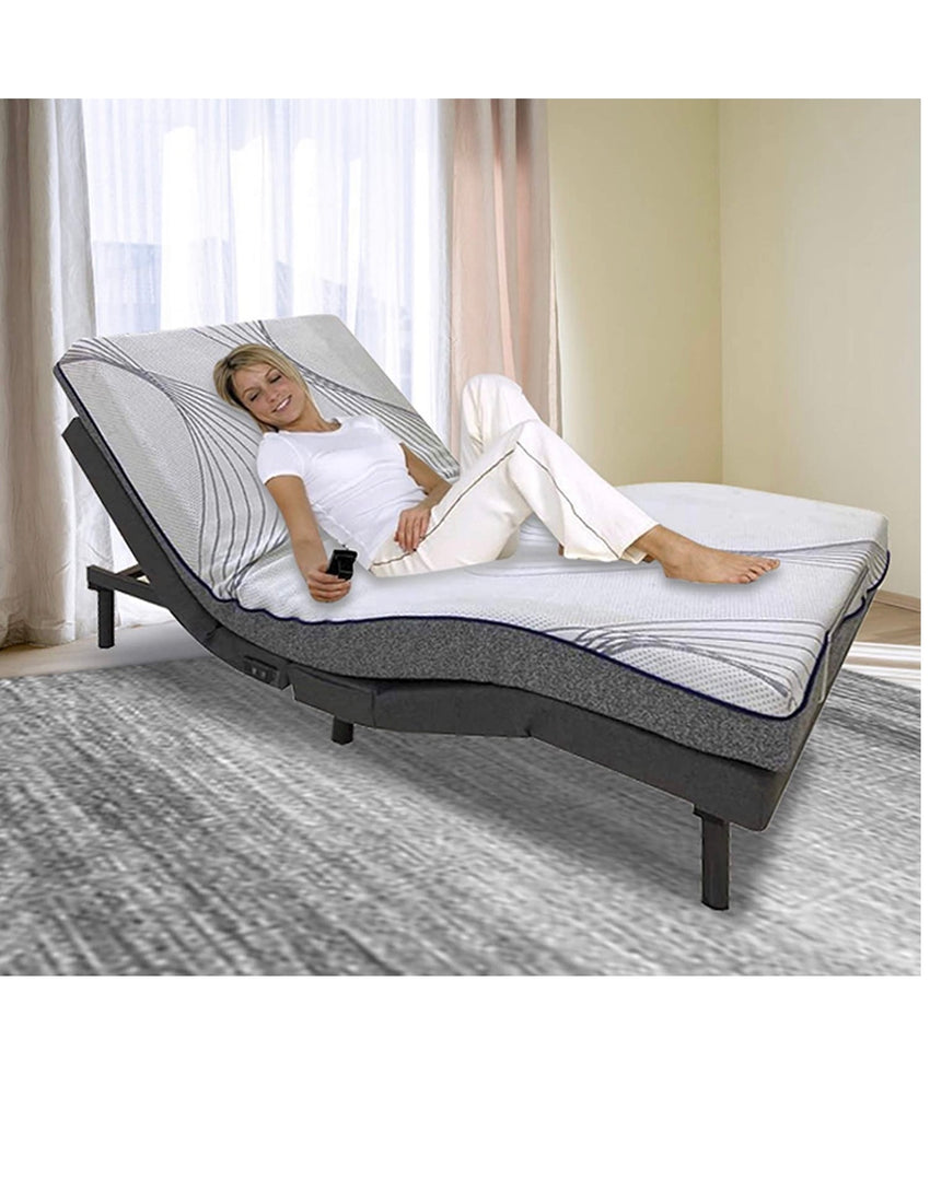 Chd Electric Adjustable Bed Frame Bed Base Twin Xl Full Queen Size