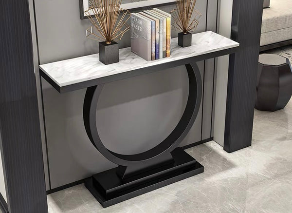 Black And White SIMPLE STYLE CONSOLE TABLE