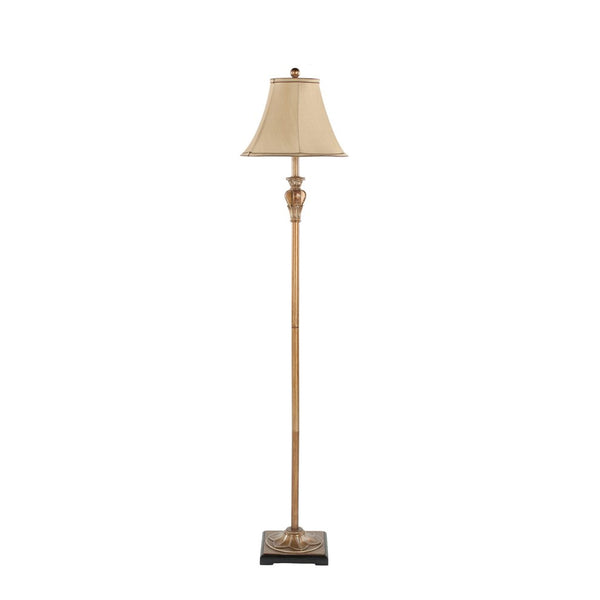 "Gold Finish 61"" Floor Lamp"