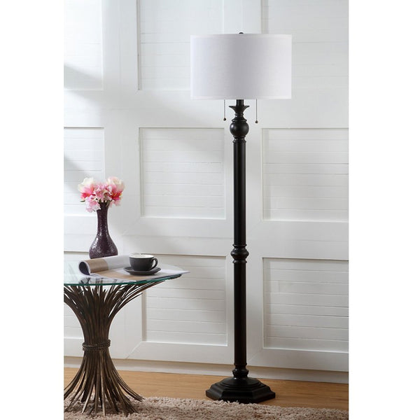 "Bronze Finish 58.75"" Floor Lamp"