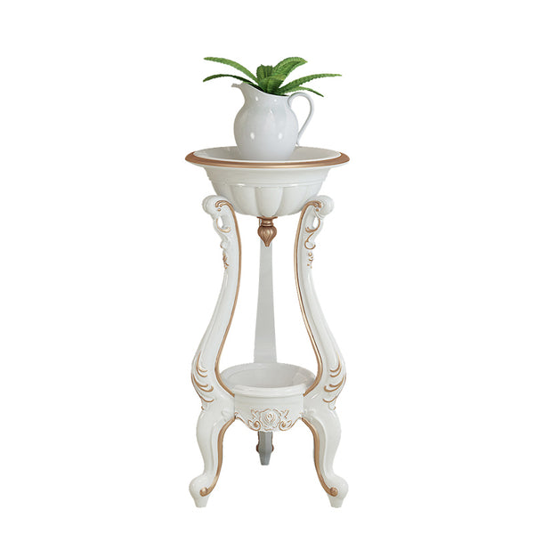 Potted Plant Stand - 2 Tier Decorative Flower Pot Rack