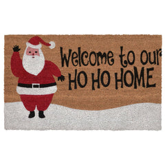 "Decorative Liora Manne Terrene Xmas Welcome Outdoor Mat 18"" x 30"""